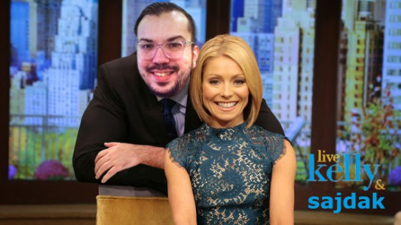 Live with Kelly and Sajdak